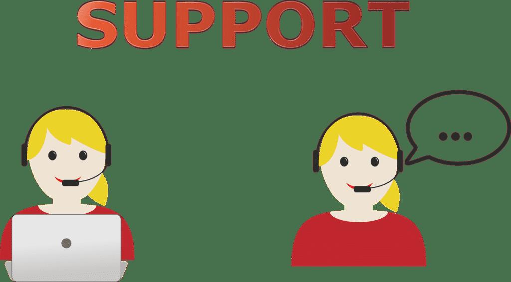 خدمة الدعم