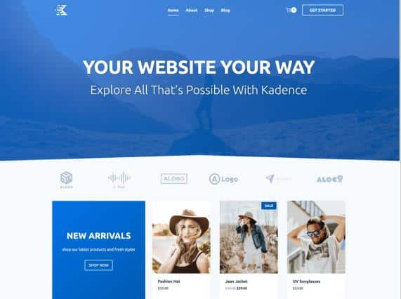 Kadence - WordPress theme