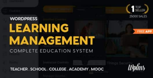 Learning Management System for WordPress