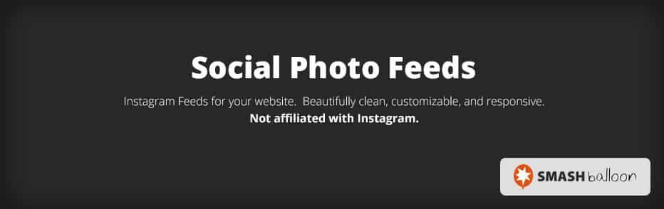 Smash Balloon Social Photo Feed – WordPress plugin